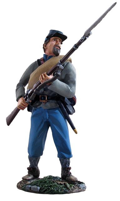 31005 - Confederate Infantry At-The-Ready No.1