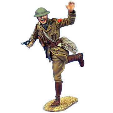 GW026 - British Infantry Officer with Webley Revolver - 11th Royal Fusiliers