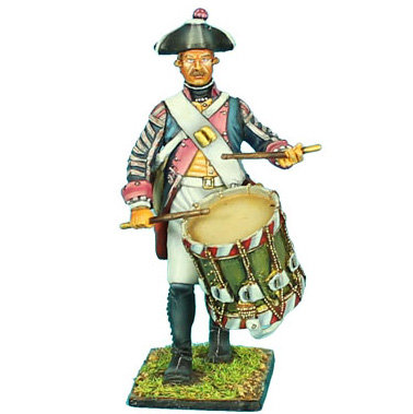 SYW004 - Prussian 7th Line Infantry Regiment Drummer
