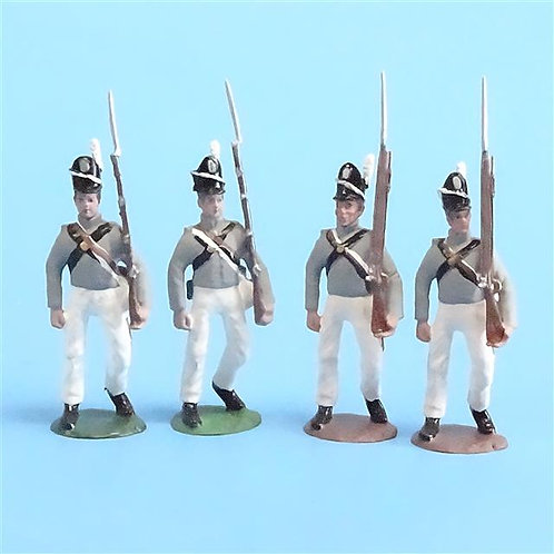 CORD-A0162 Scotts Brigade Marching (4 Pieces) - War of 1812 - All the King's Men