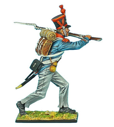 NAP385 - French 1st Light Infantry Carabinier Sergeant Charging