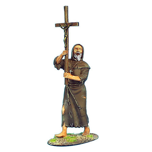 CRU063 - Monk with Crucifix