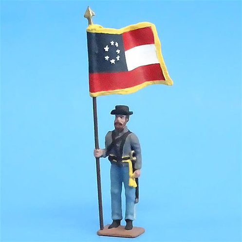 CORD-5062 -Confederate Color Bearer - ACW - Imrie-Risley - 54mm - Metal - No Box