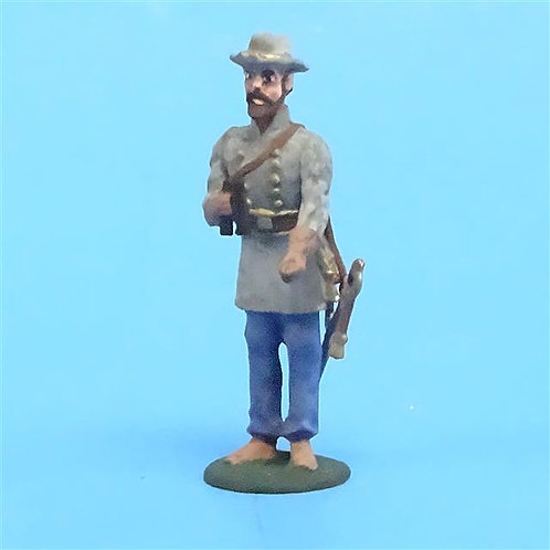 CORD-0765 Confederate Officer w/ Binoculars - ACW - Unknown Manufacturer - 54mm