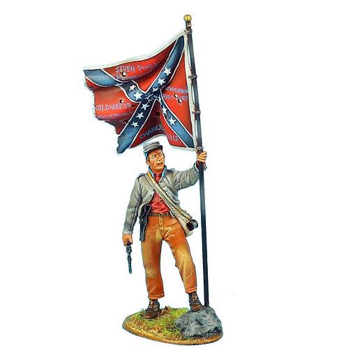 ACW043 - Confederate Standard Bearer - 13th Alabama Infantry