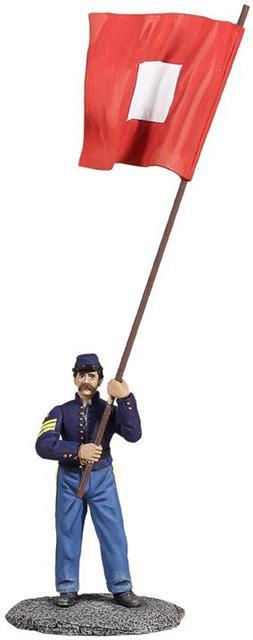 31206 - Union Signalman with Signal Flag
