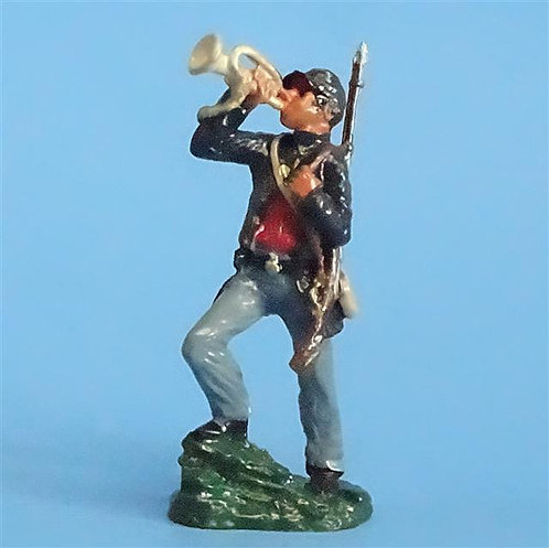 CORD-277 - Union Infantry Bugler (1 Figure) - Unknown Manufacturer - 54mm Metal