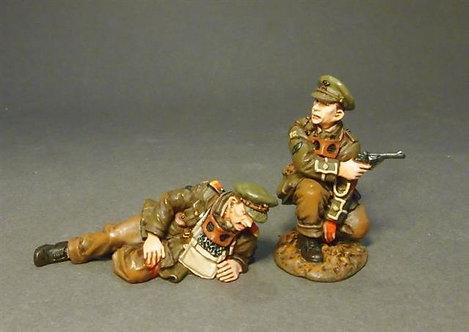 GWB-02B - Lt. C.H. Sewel and Tank Crewman
