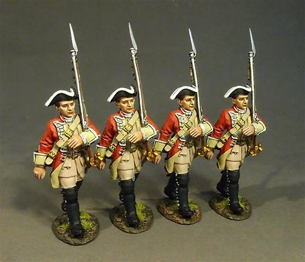 BM48-06 - 48th Regiment of Foot, Line Infantry Marching