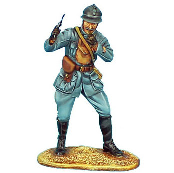 GW013 - French Officer Leading the Attack - 34th Infantry Regt