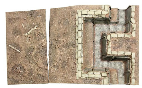 51015 - WWI British Trench Section No.2, Infantry Trench