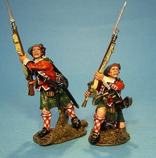 TIC-08 - 42nd Regiment of Foot, 2 Figures at the Ready