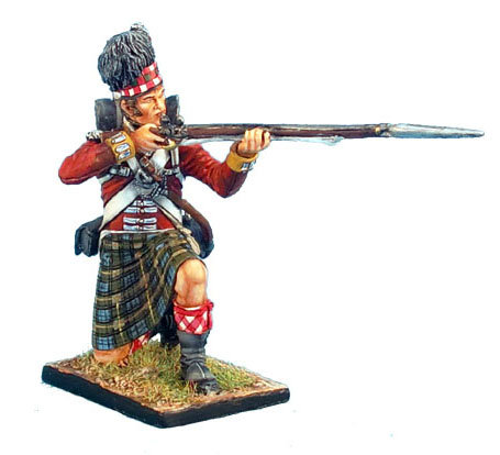 NAP0268 - 92nd Gordon Highlander Kneeling Firing