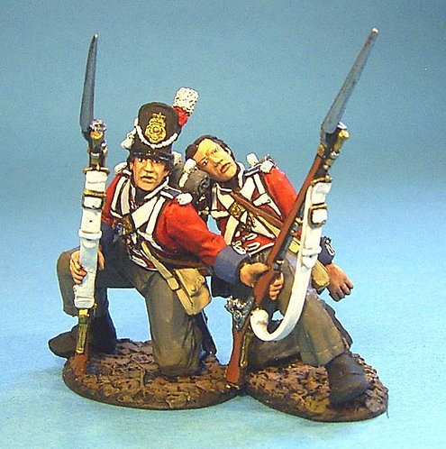 BCH-04 - 1st Royal Scots 2 Wounded Line Infantry Kneeling  (2pcs)