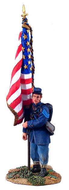 31040 - Union Infantry Flagbearer No.1