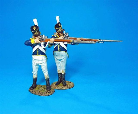 PORT-09W Firing Line Infantry - White Trousers - 2 pcs 21st Portuguese Line Inf