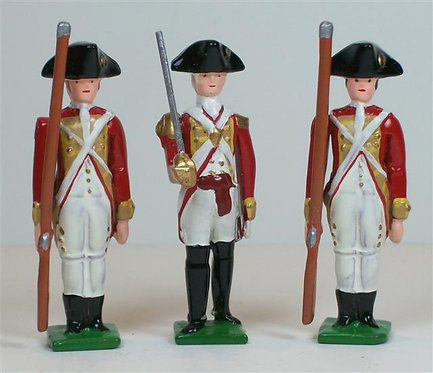 B601A - Royal Warwickshire Regiment - 3 pieces