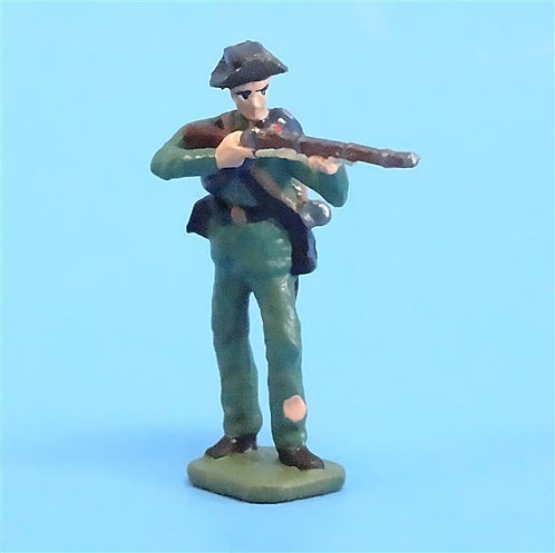 CORD-0896 Confederate Standing Firing  - ACW - Unknown Manufacturer - 54mm Metal