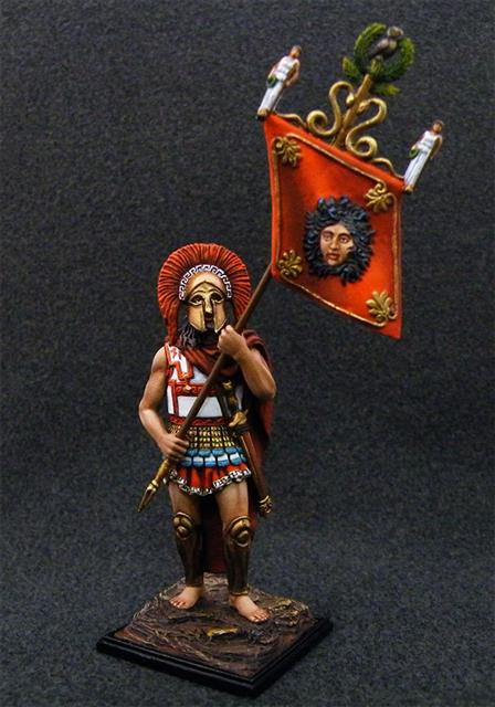 5019 - Hoplite with Athena's Standard, 430 BC
