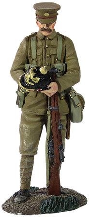 23068 - 1914 British Infantry with Souvenir German Helmet