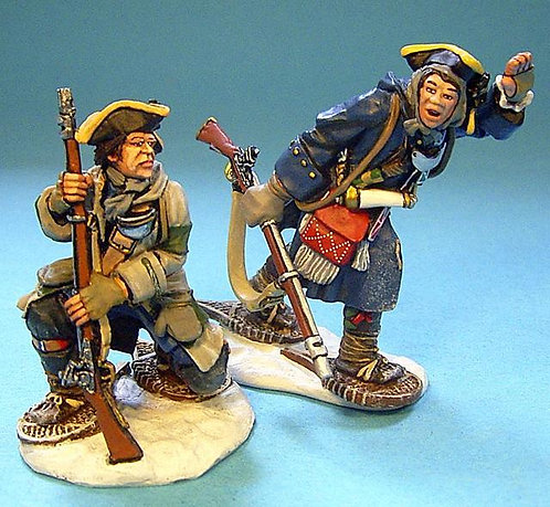 JJDCS-04 - Battle of the Snowshoes, 2 French Officers