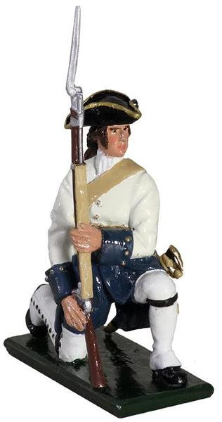 47054 - Compagnies franches de la Marine Kneeling Make Ready, 1754-1760