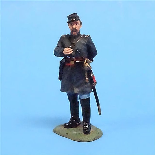 CORD-334 - Union Officer with Binoculars (CW026) - King and Country - 54mm Metal