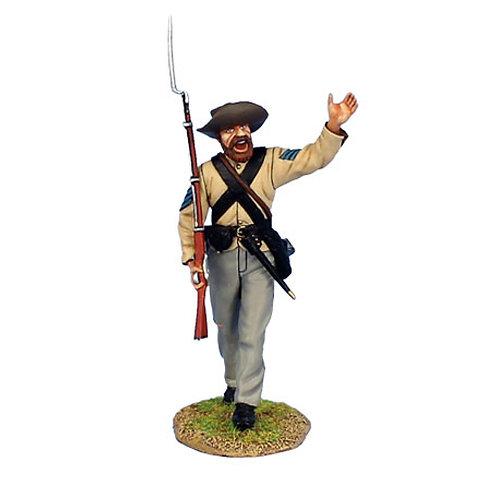 MB003 - Confederate NCO Advancing