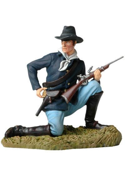 BH116 - Kneeling US Cavalryman Loading Carbine