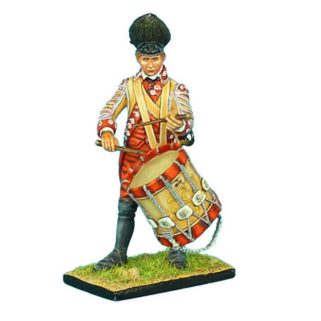 AWI043 - British 22nd Foot Drummer
