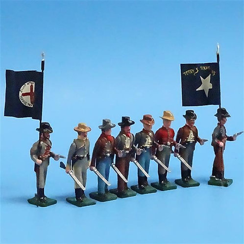COWF-0109 - 8th Texas Volunteer Cav Regiment Terry's Texas Rangers, Dismounted