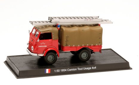 CBO108 - All Truck Usage 4X4, 1954, France          Scale: 1:50
