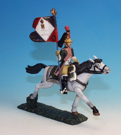 F17C.7 - Standard Bearer, with Standard, 17th Dragoons