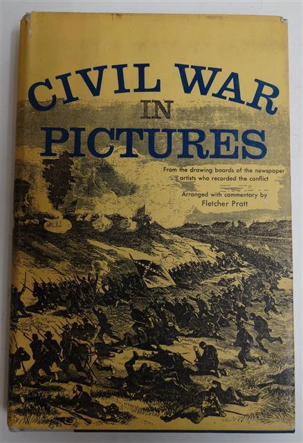 BK126 - Civil War In Pictures by Fletcher Pratt