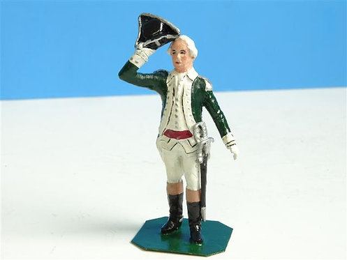 MI-245 - Colonial Officer #2 - Manufacturer Unknown - 54mm Metal - No Box