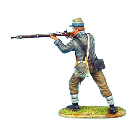 ACW055 - Confederate Infantry Standing Firing