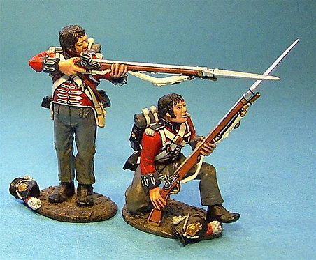 BCH-03 - 1st Royal Scots 2  Line Infantry Bare Headed  (2pcs)