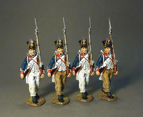 PFL-09N - Fusilier Marching Box Set #4  French Line Infantry, 1807  66th Line
