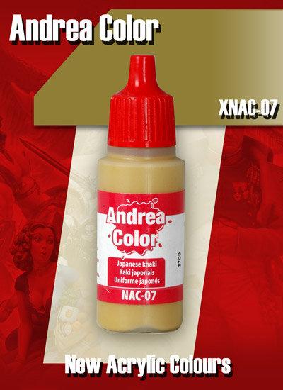 XNAC-07 - Japanese Khaki - Andrea Color