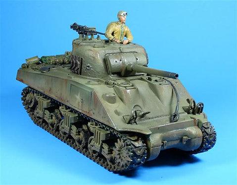 FOV010 - Sherman Tank - Includes Removable Plastic Figure