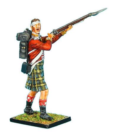 NAP0274 - 92nd Gordon Highlander Bandaged Head Yelling