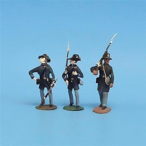 CORD-201 - Iron Brigade (3 Figures) - Manufacturer Unknown - 54mm Metal - No Box
