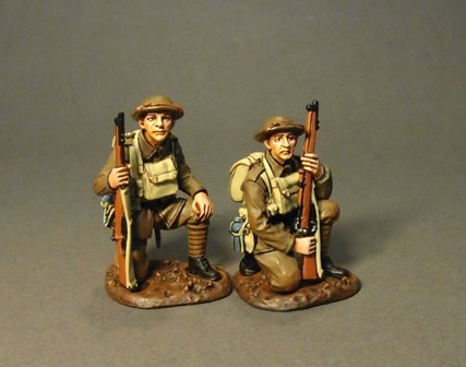 GWB-24 - 2 Tommy Tank Riders  58th 2/1st London Division  The Great War