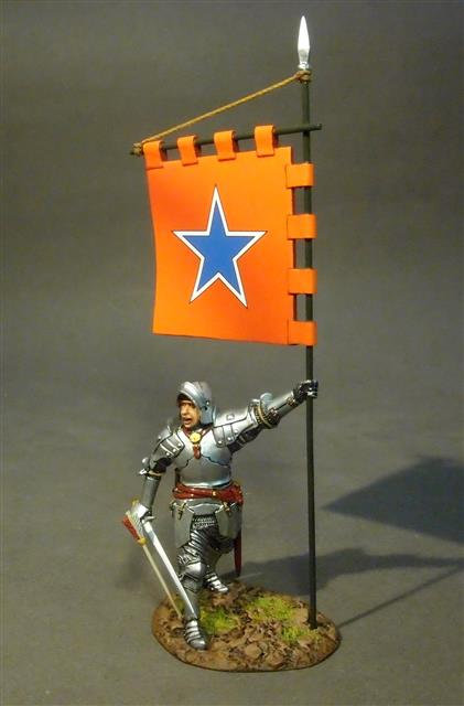 OXLANC-03 - Knight with Banner  The Retinue of John de Vere, 13th Earl of Oxford