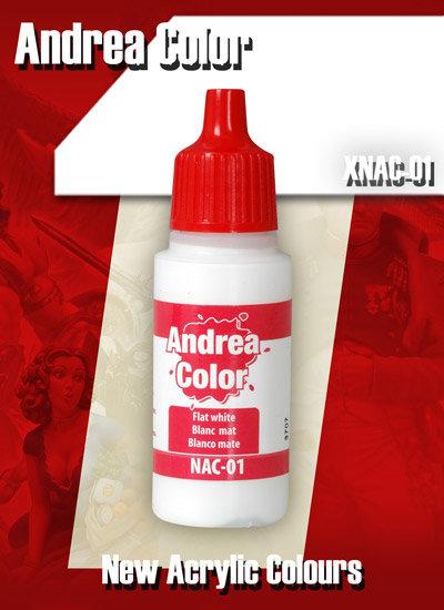 XNAC-01 - Flat White - Andrea Color