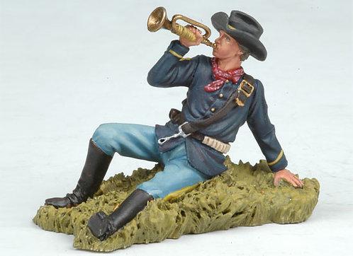 BH108 - US Bugler Lying on the Ground