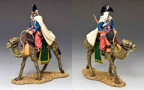 NE029 - Camel Cavalier with Baggy Red Pantaloons - RETIRED