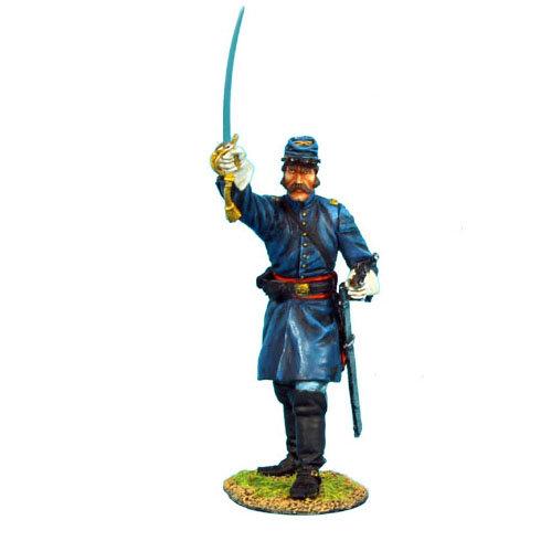 ACW024 - Union Dismounted Cavalry Lieutenant