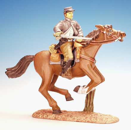 RC.18 - Trooper, Lunging with Sword, Confederate Cavalry