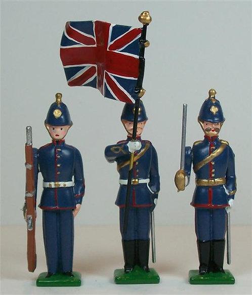 B665 - British Royal Artillery - 3 pieces